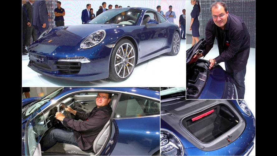 Erster Check des neuen Porsche 911 auf der IAA