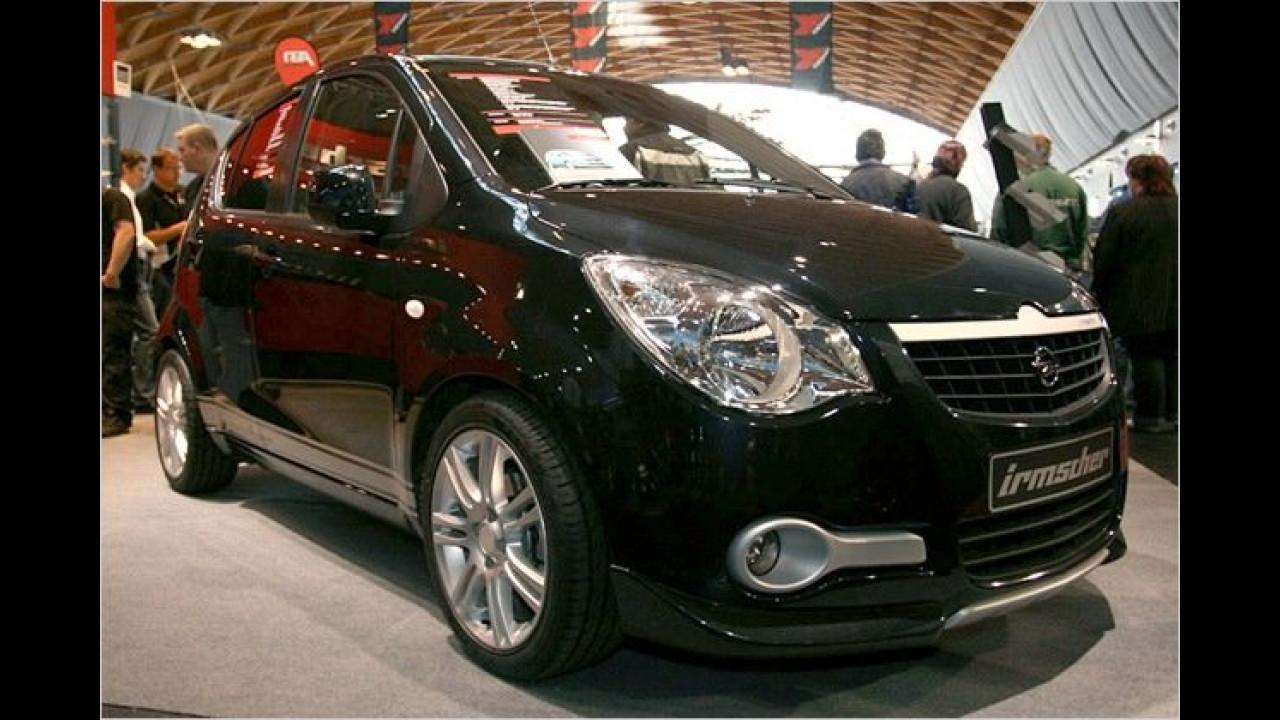 Auch wenn man es ihm nicht ansieht, der Opel Agila von Irmscher wird mit Autogas betrieben