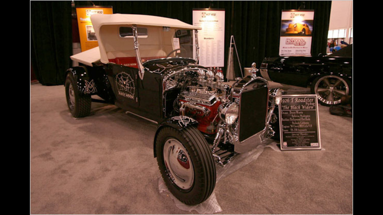 Ford T-Roadster 1926 ,The Black Widow