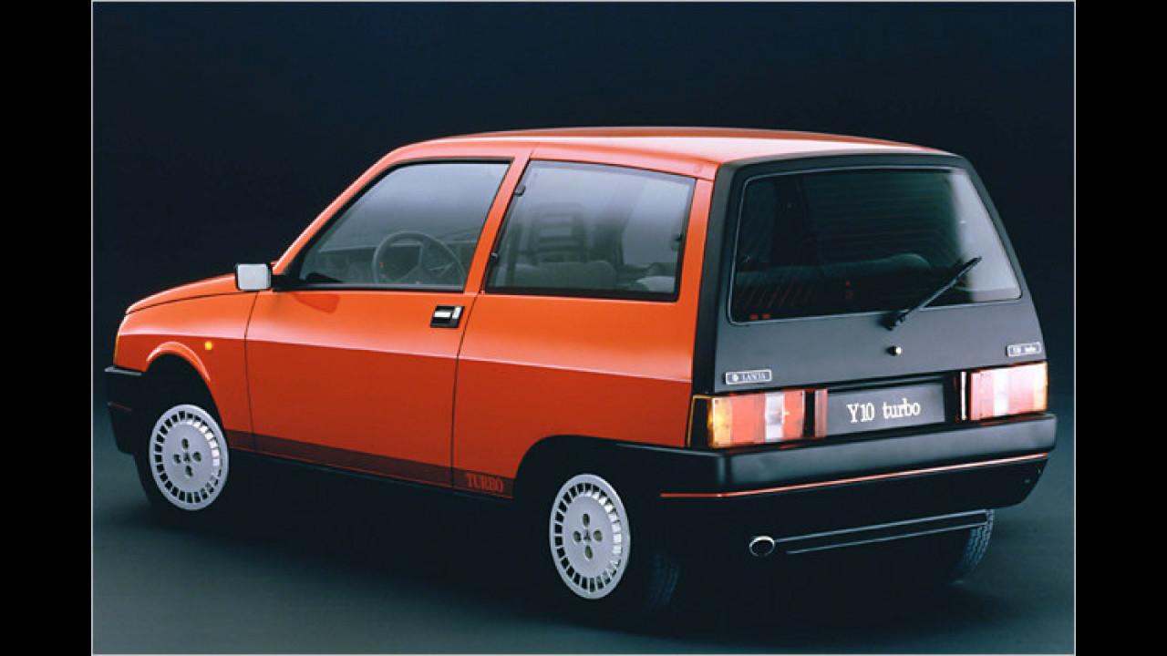 Schöner Kleiner: 1985 war Lancia mit dem Y10 dabei
