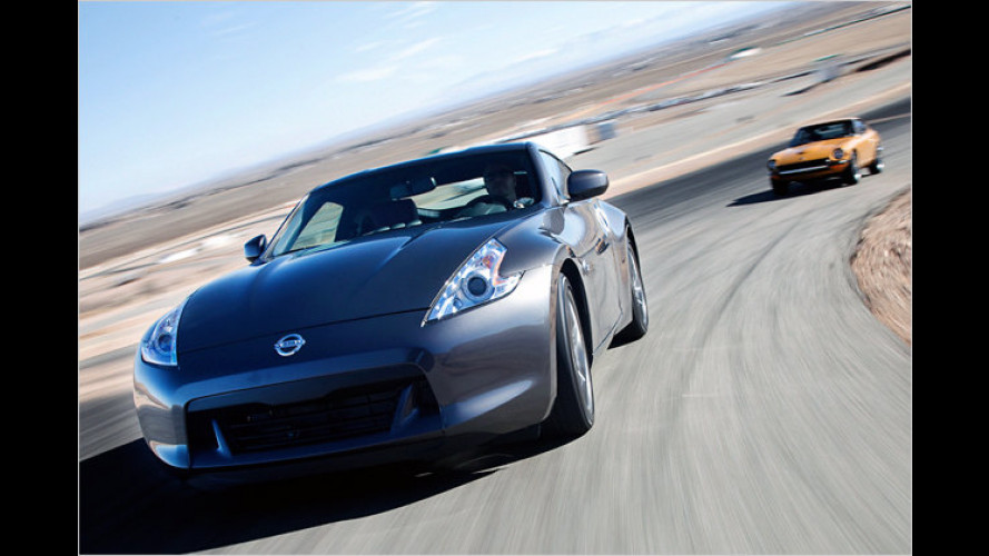40 Jahre Nissan Z: Limitierte ,BlackEdition