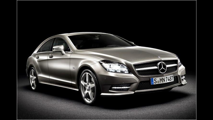 Der neue Mercedes CLS: Viertürige Eleganz die Zweite