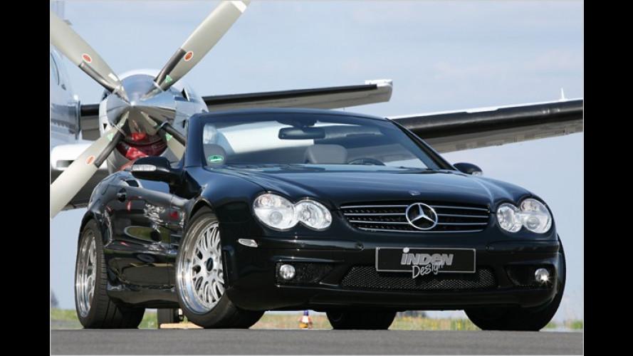 Behutsam nachjustiert: Mercedes SL 500 von Inden-Design