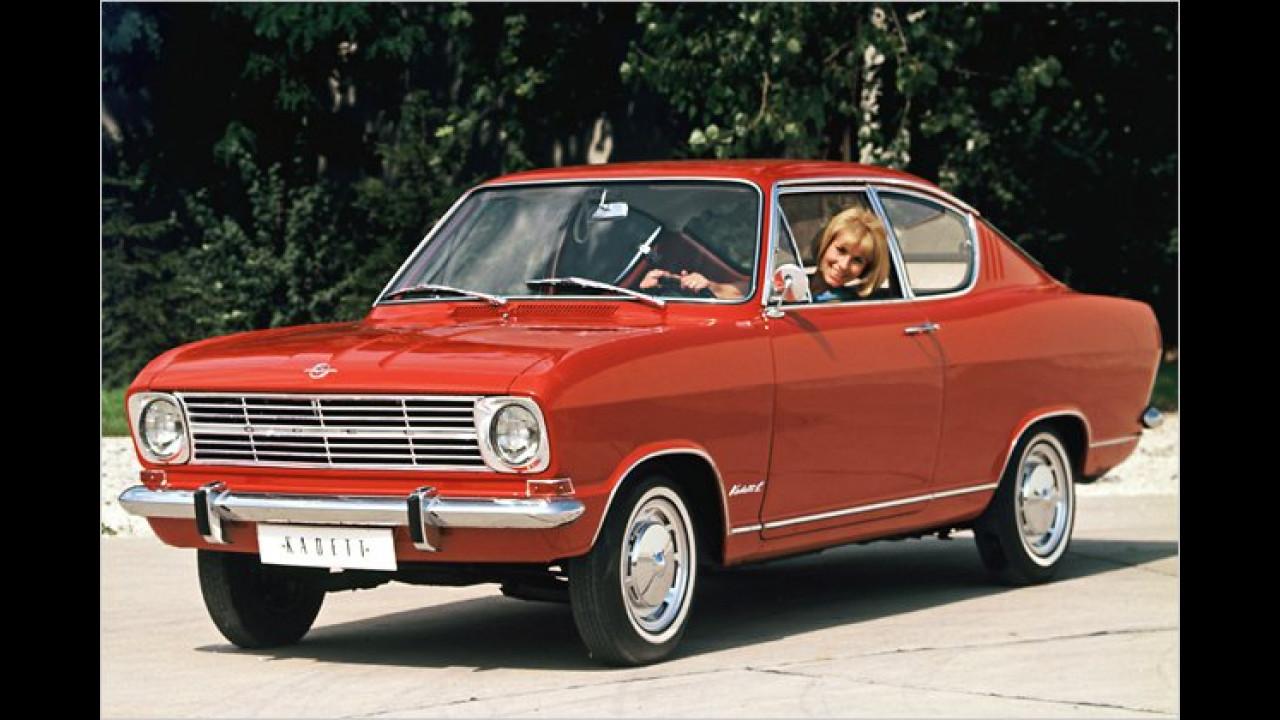 Platz 23: Opel Kadett (6,7 Prozent)