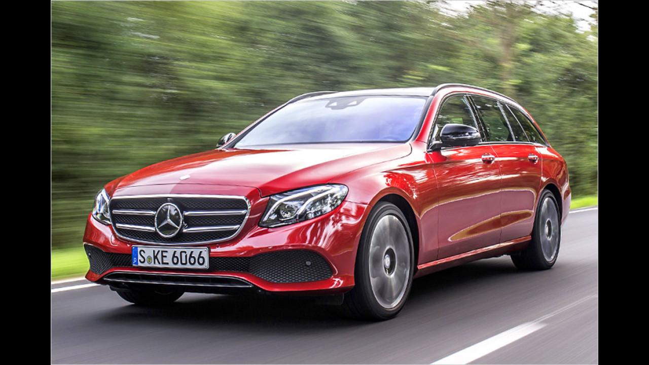 Mercedes E-Klasse T-Modell: 4,93 Meter