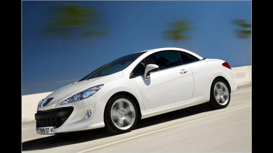 Offenes Design-Stück: Der neue Peugeot 308 CC im Test