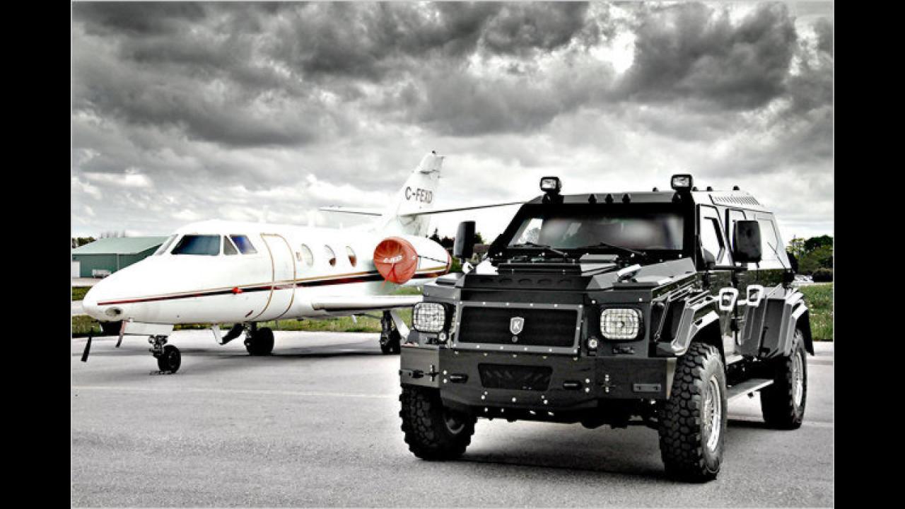 Das schwerste Auto: Knight XV