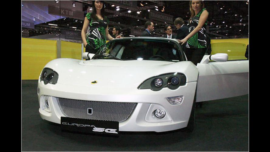 Fleißige Briten: Lotus-Neuigkeiten auf dem Auto-Salon 2008