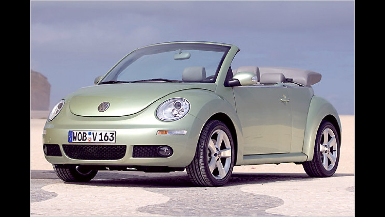 VW New Beetle Cabrio 1.4