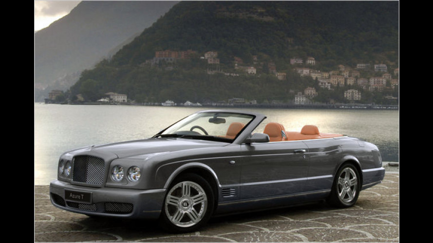 Bentley Azure T: Britisches Nobel-Cabrio powert mit 507 PS