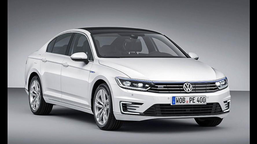 Híbrido: VW Passat GTE tem 218 cv e consumo de 50 km/l