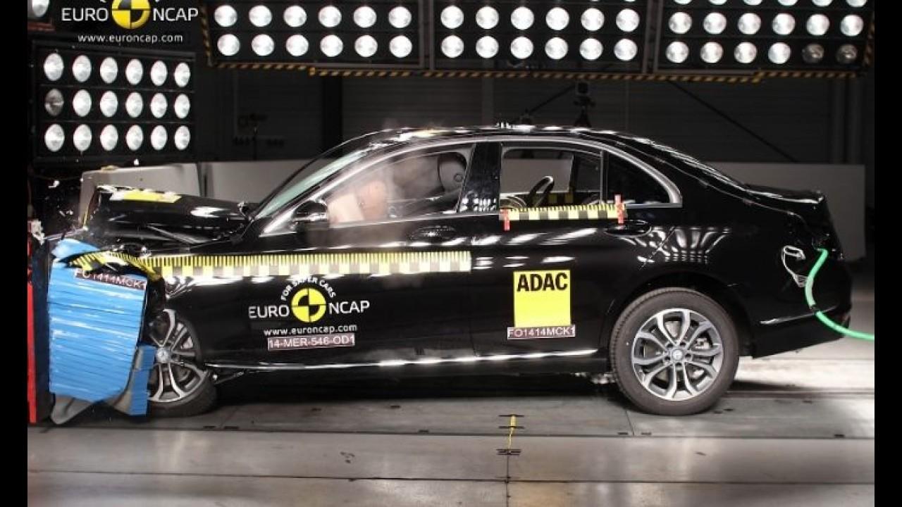 Euro NCAP: Classe C e Discovery Sport estão entre os mais seguros de 2014