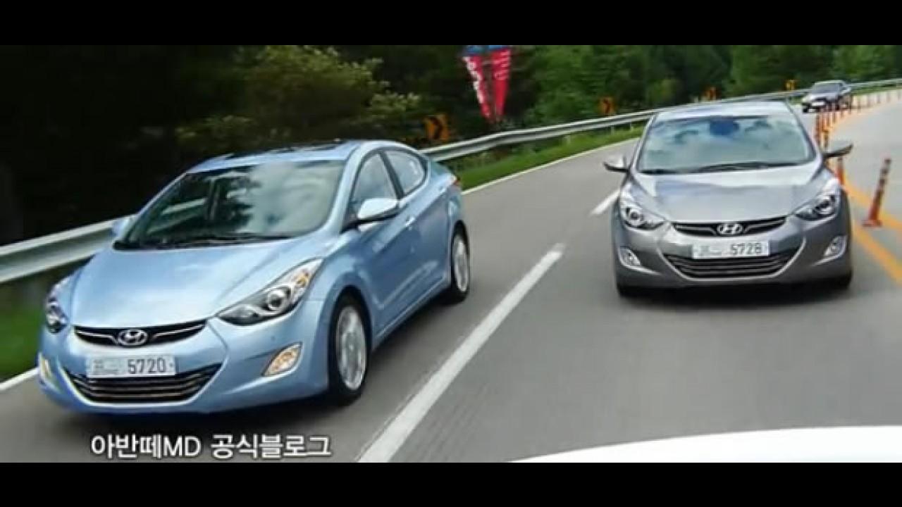 VÍDEO: Novo Hyundai Elantra (Avante) em movimento