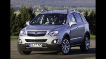 Captiva Europeu: Opel Antara 2011 ganha leves modificações e novos motores