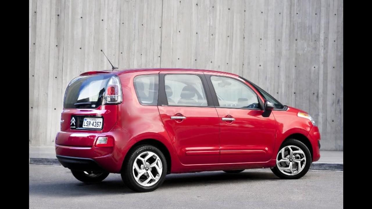 Citroën C3 Picasso 2013 chega com novos motores e freios ABS e duplo airbag em todas as versões