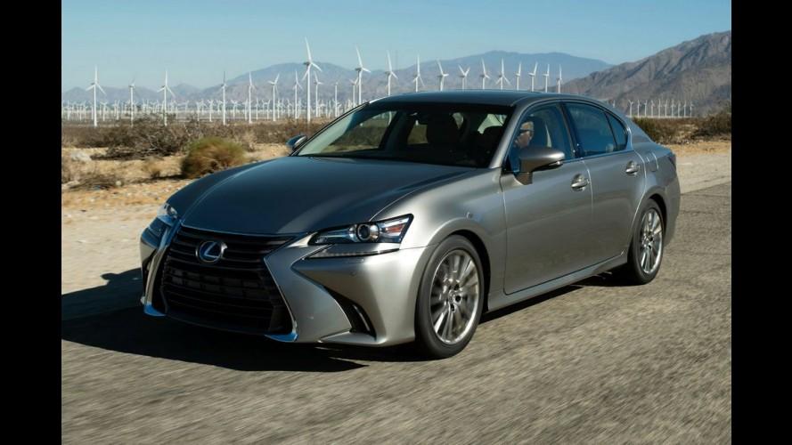 Lexus GS 2016 ganha retoques e nova versão 200t de 241 cv - veja fotos