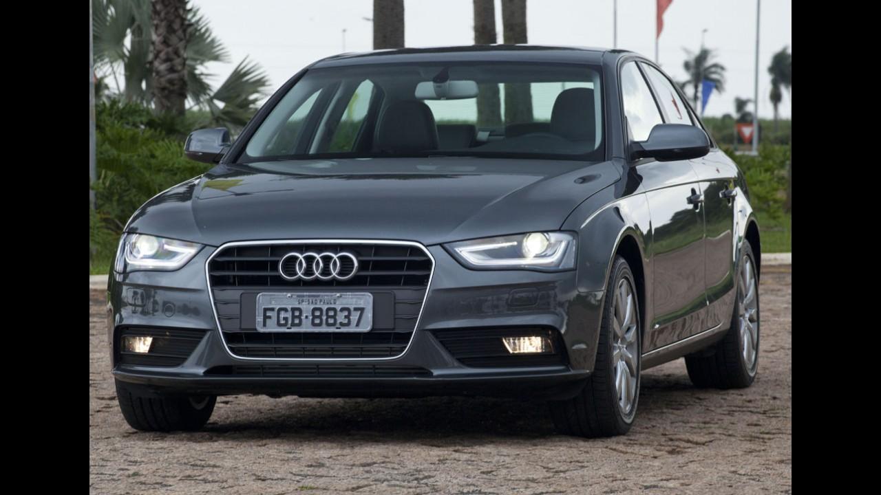 Audi A4 tem desconto de R$ 14.300; marca oferece taxa zero para toda linha