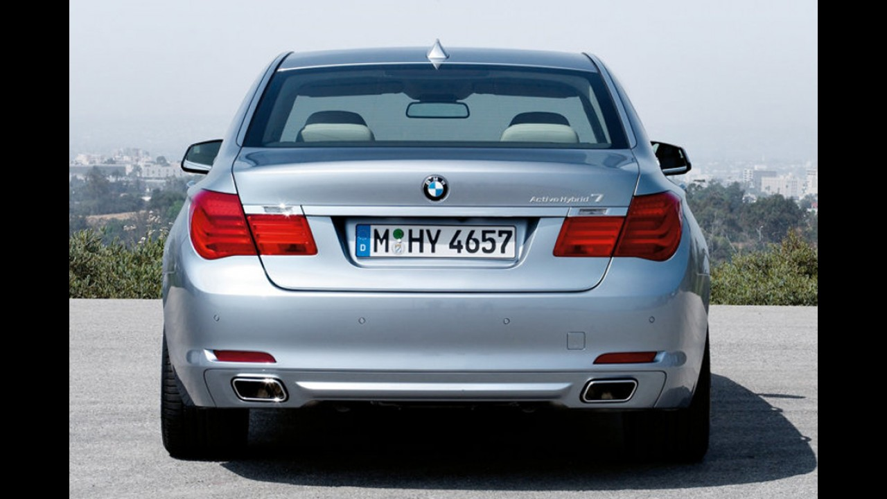 BMW já vende sedã híbrido Série 7 ActiveHybrid no Brasil por R$ 546.000