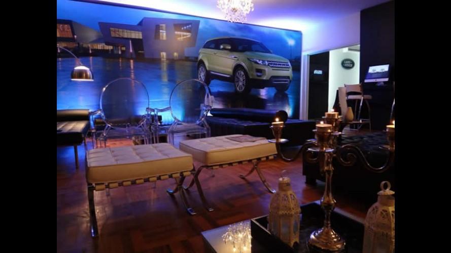 Land Rover inaugura Casa Evoque e promove test drive em São Paulo