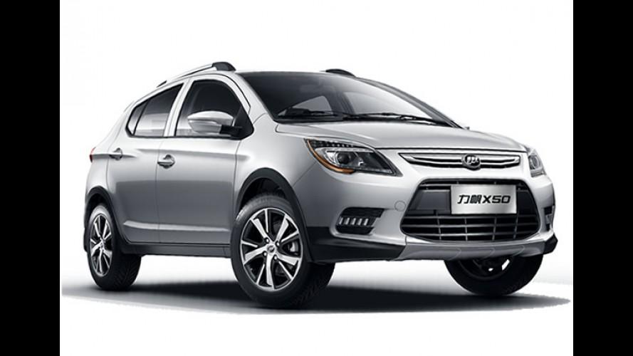 Salão do Automóvel: Lifan mostrará crossover X50 que chega em 2015 ao Brasil