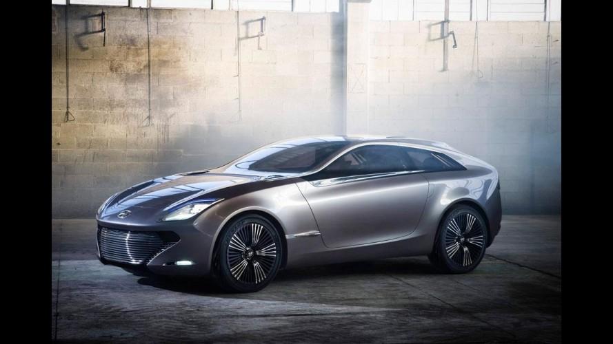 """Salão de Genebra: Hyundai i-oniq Concept antecipa evolução do design """"escultura fluida"""""""