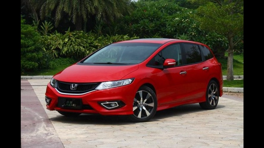 Honda Jade: versátil e esportiva, MPV do Civic é revelada na China