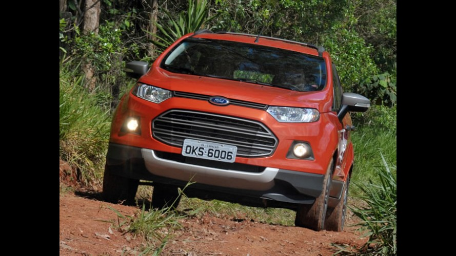 Volta rápida: Ford EcoSport FreeStyle 4WD - Mais valentia para o jipinho, mas sem exageros