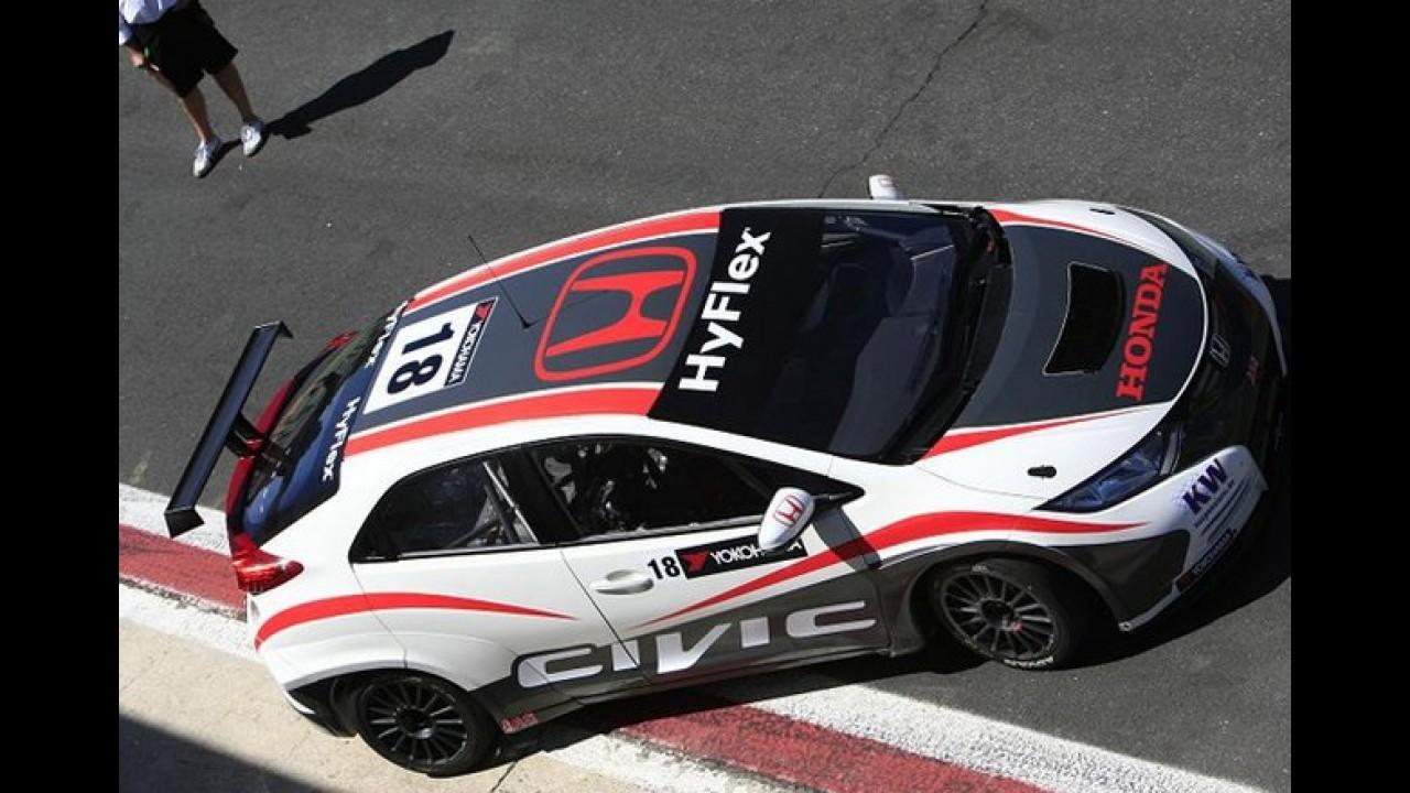 Honda Civic WTCC Edition é lançado na Suíça