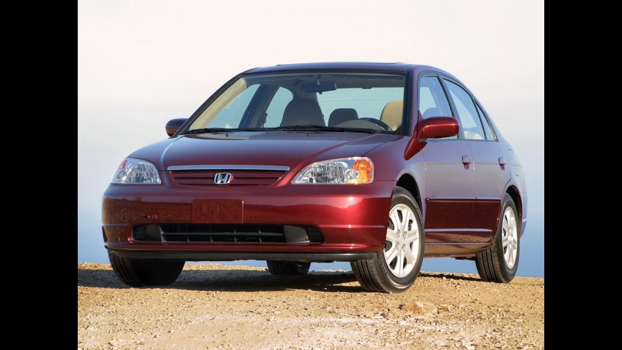 Recall: Honda convoca 20 mil Civic e CR-V no Brasil por falha no airbag