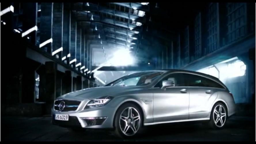 VÍDEOS: Mercedes-Benz CLS Shooting Brake em detalhes