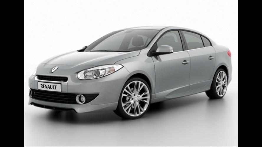 Renault Fluence 2.0 Turbo com 180 cv será lançado na Argentina em junho