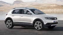Volkswagen Polo-based crossover speculative rendering 16.10.2012