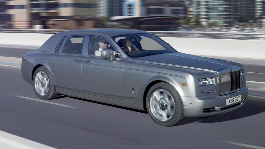 Rolls-Royce celebrates 10 years of Phantom production