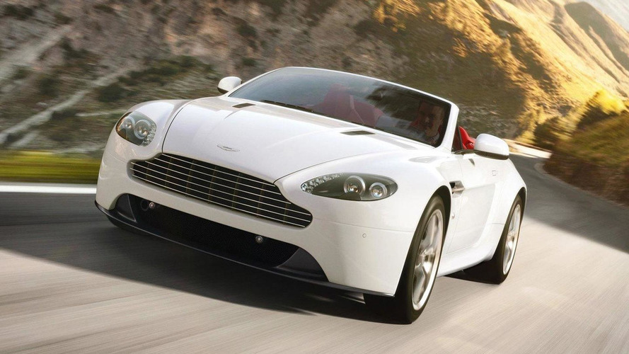 Aston Martin V8 Vantage gets a facelift