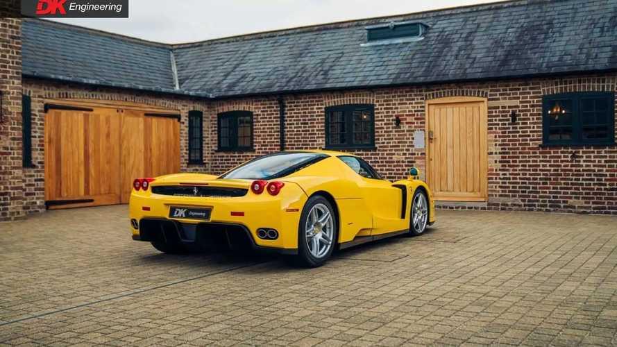Foto Ferrari Enzo gialla in vendita