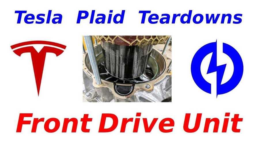Watch Dissection Of Tesla Model S Plaid Front Drive Unit