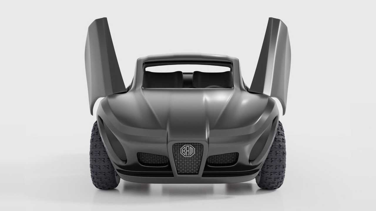 Этот квадроцикл от ВАМ – помесь Tesla и Ferrari