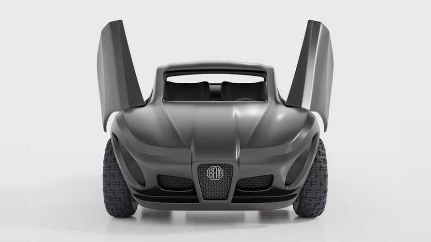 Между Tesla и Ferrari: оцените мощный электрический квадроцикл