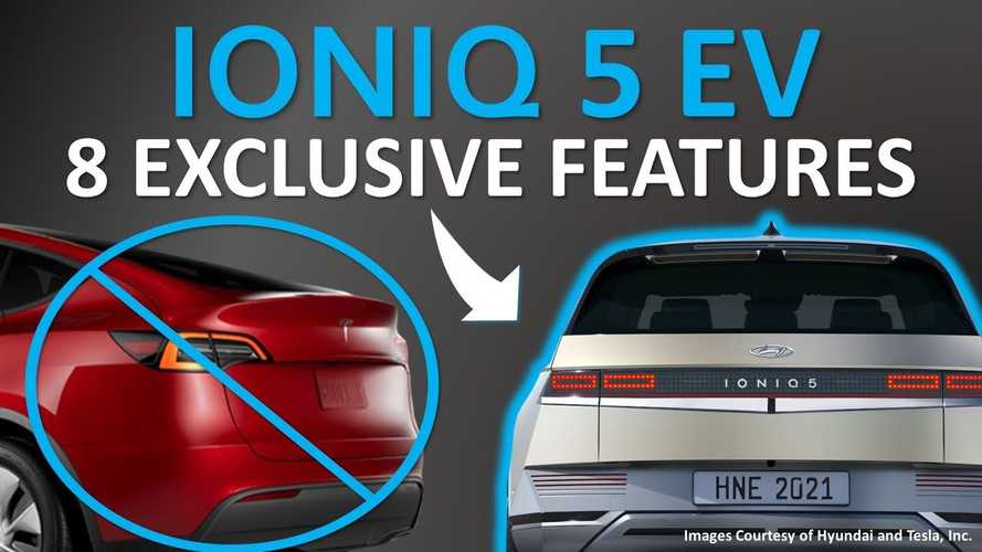 Hyundai Ioniq 5 Exclusive Features Not Available On Tesla Model Y