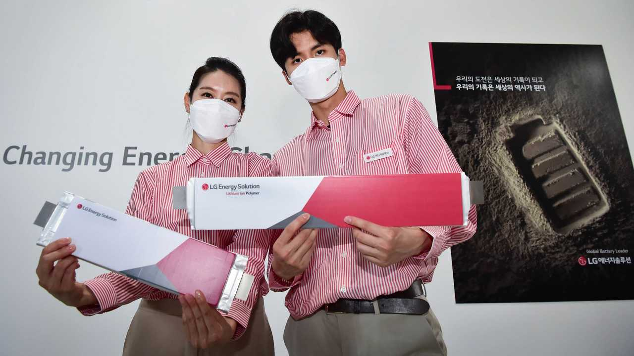 LG Energy Solution batteries at InterBattery 2021