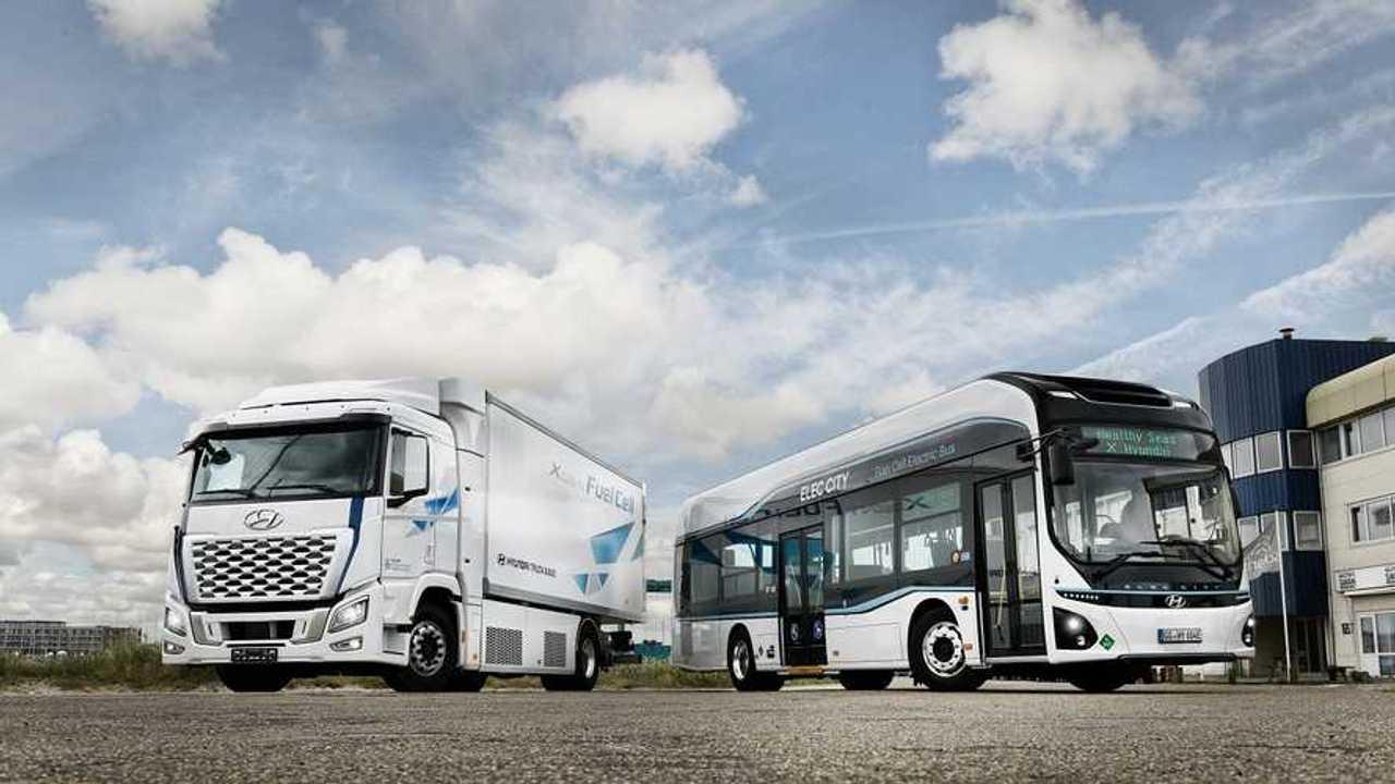Hyundai Partner di H2 Mobility - XCient e Elec Bus