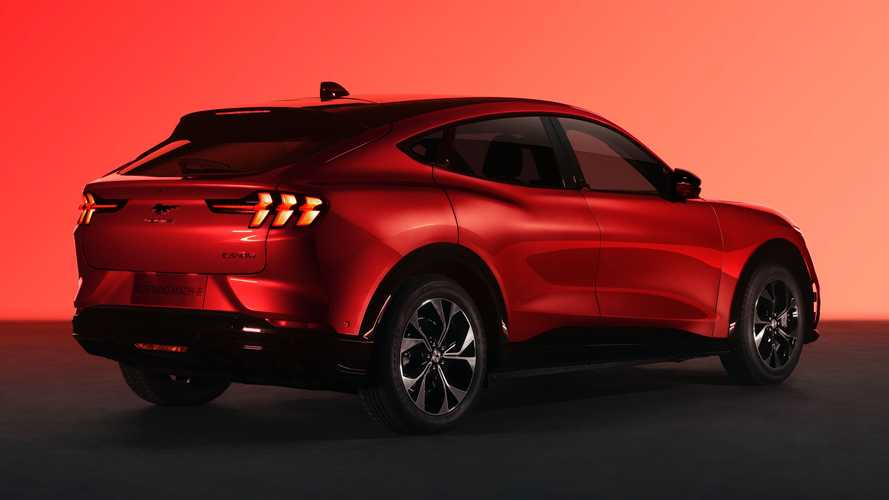 Ford Mustang Mach-E Extended Range In Chinese Specification