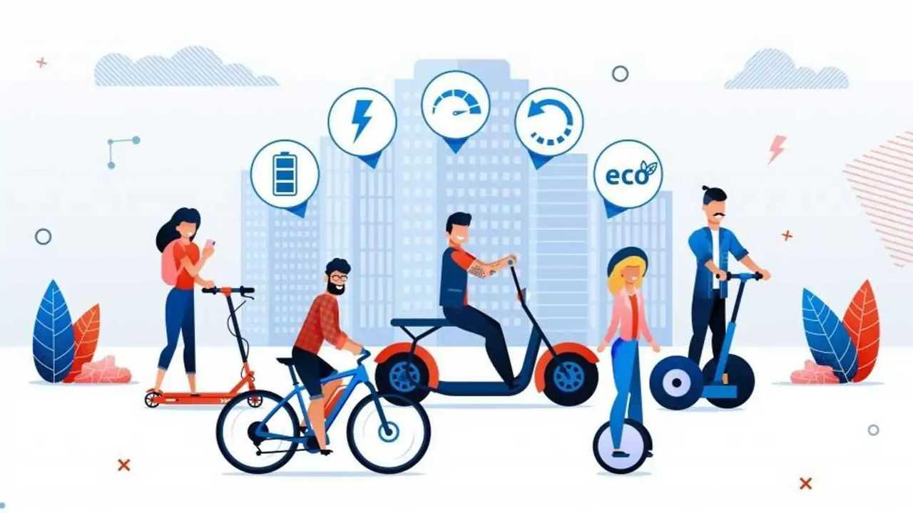 Grafica Ue sulla mobilità leggera