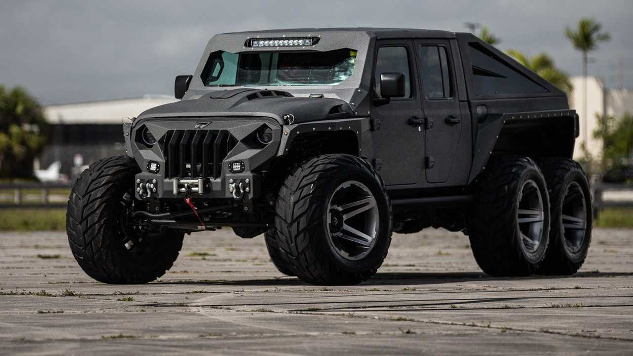 Hellfire 6x6 на базе Jeep Gladiator
