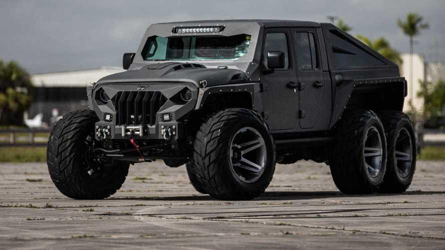 Не в моем вкусе, но круто: Джей Лено оценил Jeep Gladiator 6х6