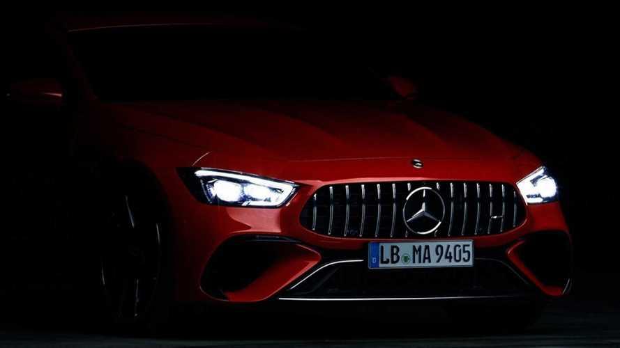 Mercedes-AMG GT Plug-In Hybrid With 805 HP Teased, Debuts September 1