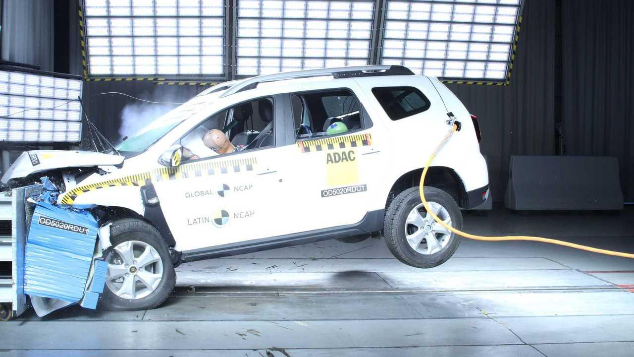 Renault Duster 2022 - Teste de Colisão