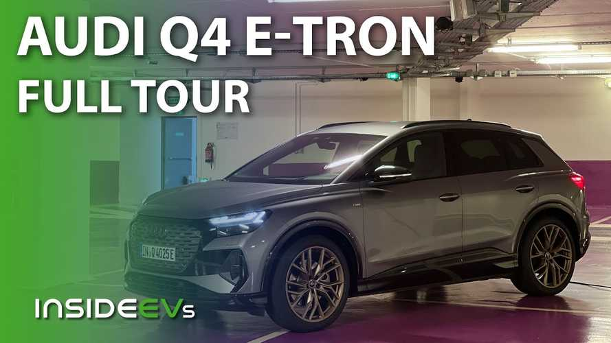 We Take A Close Look At The Audi Q4 E-Tron, Inside And Out