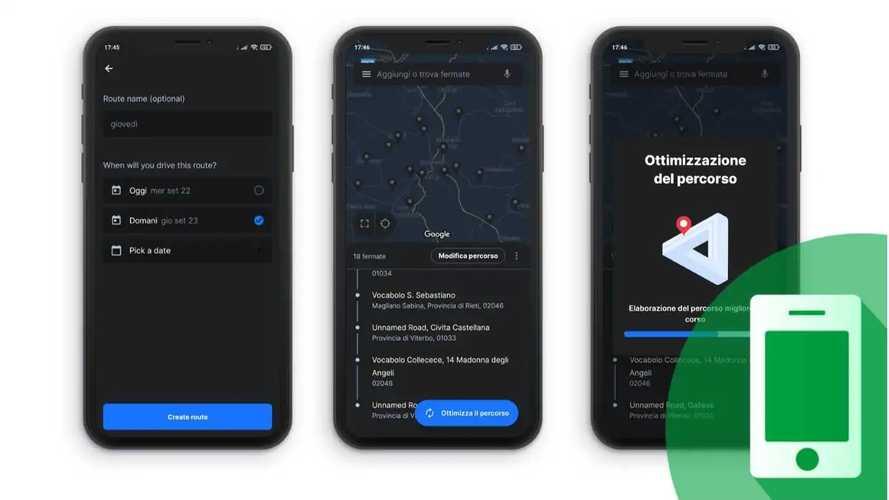 5 app per ordinare e ottimizzare il percorso di consegna