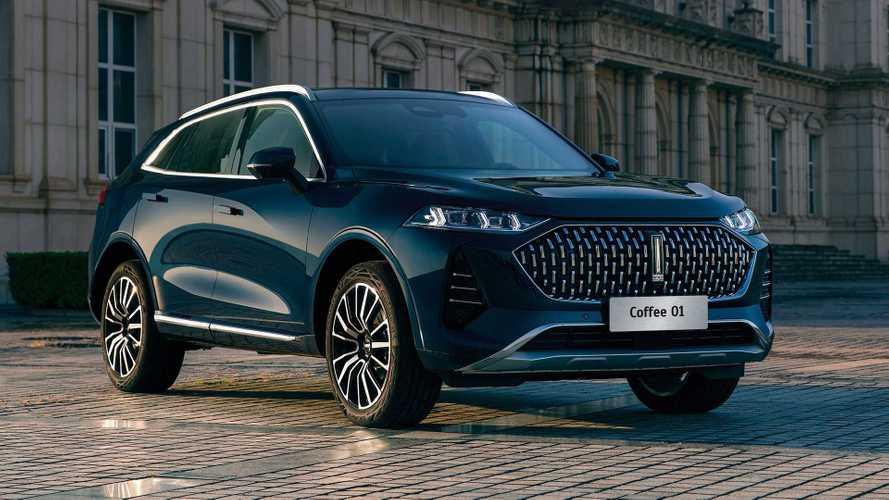 Wey Coffee 01: un gran SUV híbrido enchufable y chino, para 2022
